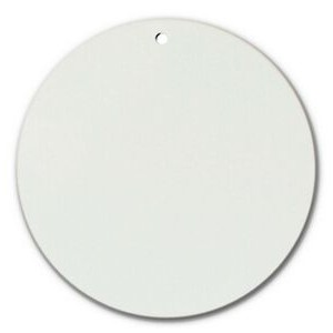 "Sublimation Printable Blank DynaSub Aluminum Circle (4 3/4"" Diameter)"
